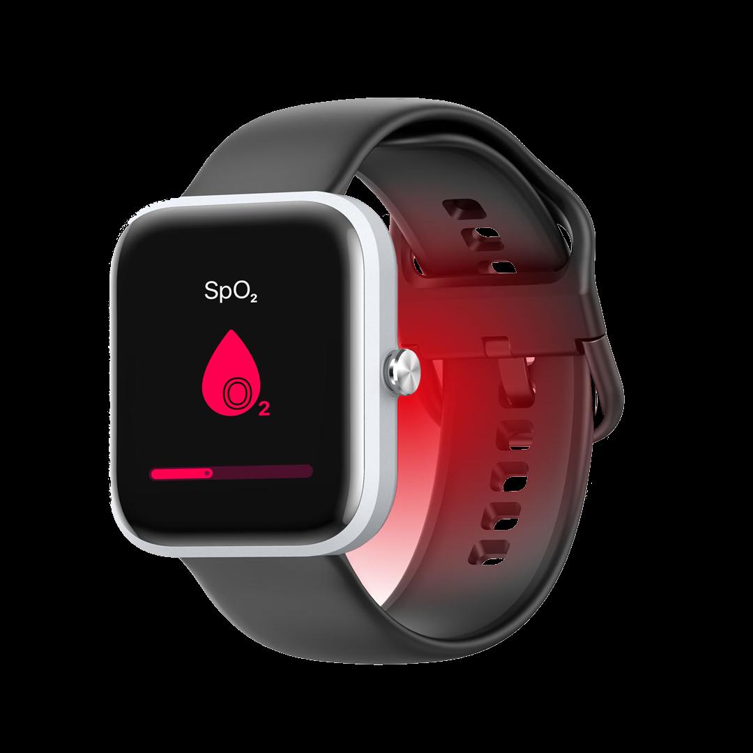 VYVO WATCH LITE SE - Умные часы VYVO с мониторингом температуры тела, насыщения крови кислородом, кортролем артериального давления...